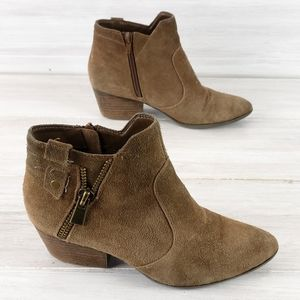 Crown Vintage Larin Leather Ankle Boots